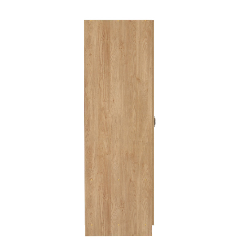 2 Door Wardrobe Oak Effect Veneer