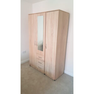 classic 3 door ready assembled wardrobes
