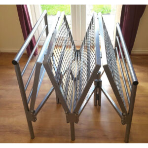 metal folding double bed