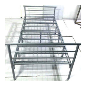 folding metal double bed frame
