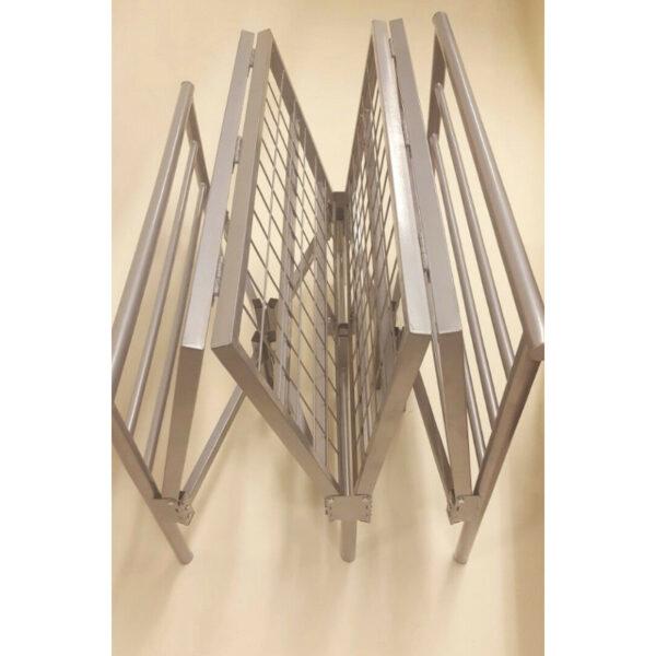 Dallas Silver Metal Frame