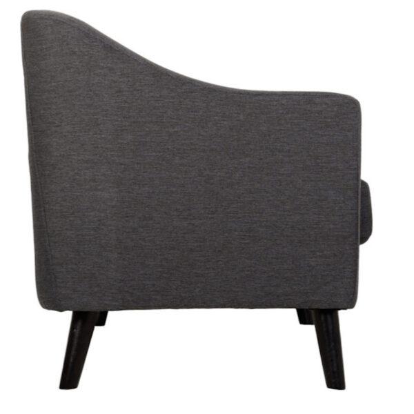 Ela Dark Grey Sofa