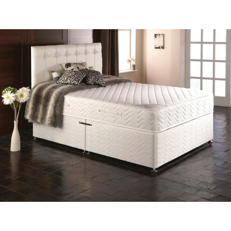 Luxury Orthopaedic Divan Bed Set