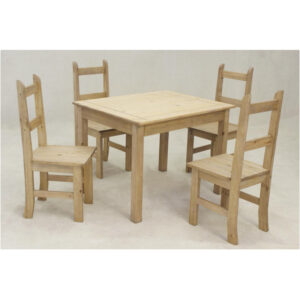 Morelia Pine Dining Set
