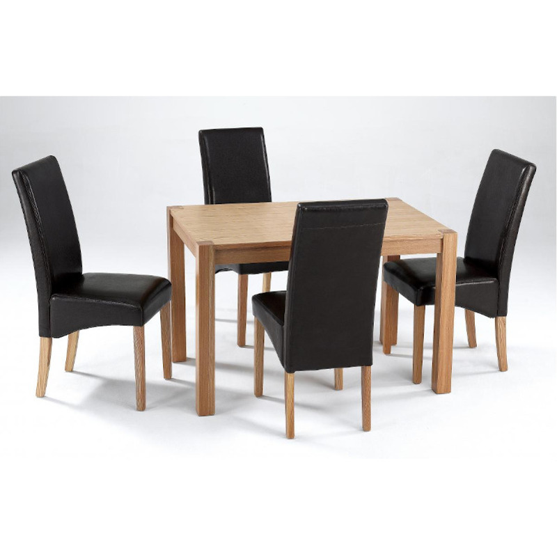 Milan Dining Table Set 4 Chairs