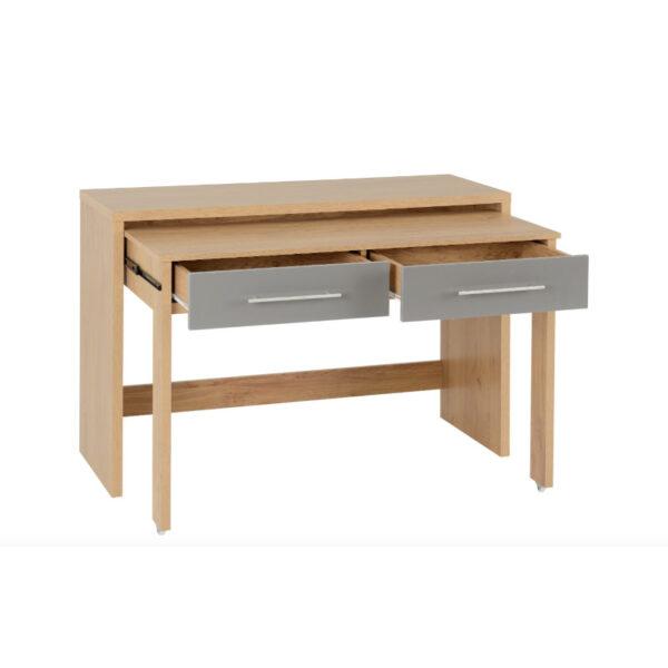Havana 2 Drawer Slider Desk