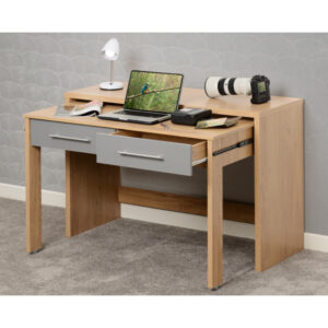 Havana 2 Drawer Slider Desk