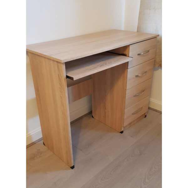 Modern Oak Colour Student Desk