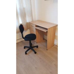 Modern Oak Colour Student Desk