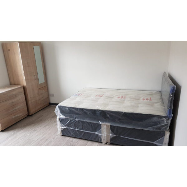 super king size divan bed with mattress and headboard