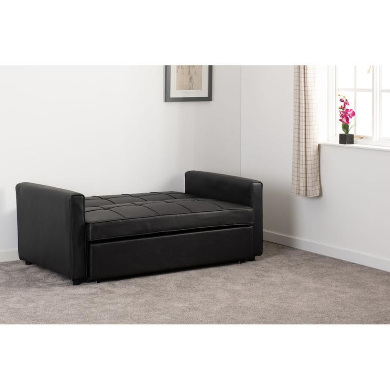 luna black sofa bed