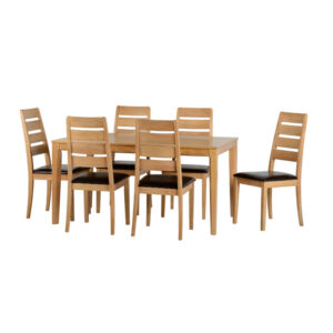 Bali Dining Set – 6 Chairs